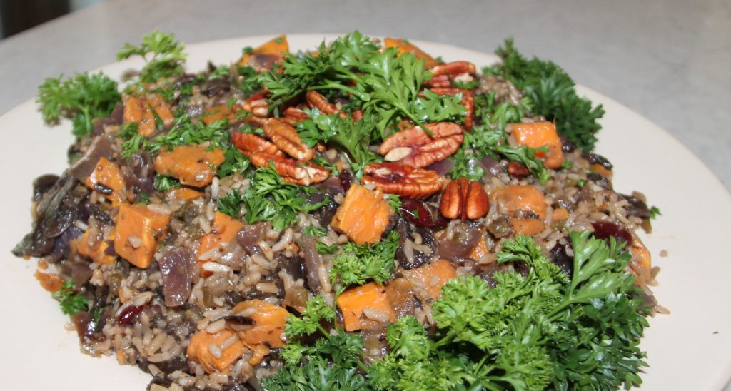 Vegan Thanksgiving Dressing - Calypso Cafe