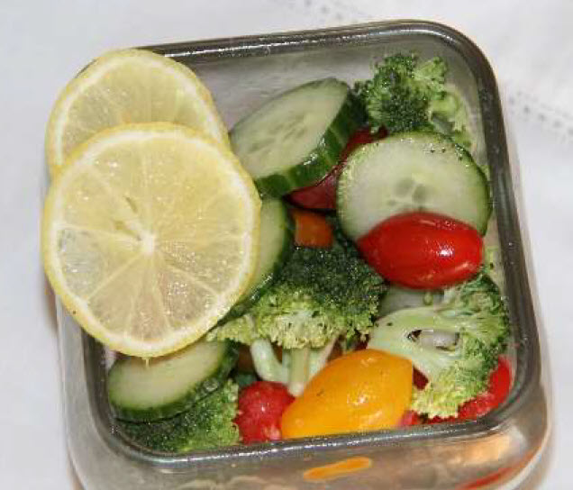 Citrus Marinated Vegetables